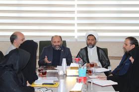 جلسه مدیران نهضت سوادآموزی با مدیر کل، کارشناسان و مسئولین مراکز کانون استان قم