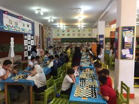 برگزاری مسابقه شطرنج اعضای کانون تهران در مرکز شماره ۴۰