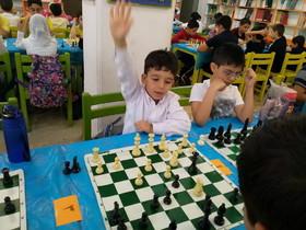 مسابقات شطرنج مراکز کانون تهران
