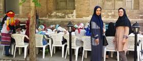 اجرای برنامه برای بچههای شیرخوارگاه حلیمه در آستانه هفته ملی کودک