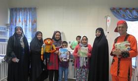 لبخند برای بچههای بیمار