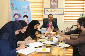 گزارش تصویری از نشست خبری مدیرکل کانون پرورش فکری استان سمنان در هفته ملی کودک
