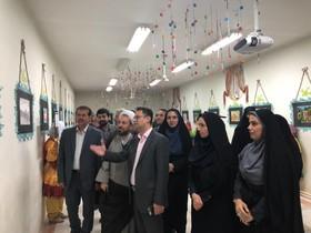 افتتاح نمایشگاه نقاشی اعضای کانون مازندران  در کلاردشت