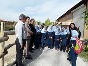 بازدید کودکان از مدرسه طبیعت به مناسبت هفته ملی کودک