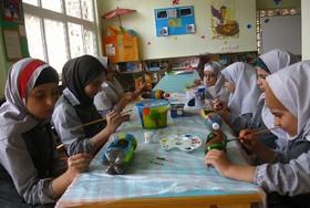 مهارتآموزی دانشآموزان علیآبادی با شعار خلاقیت و محیطزیست