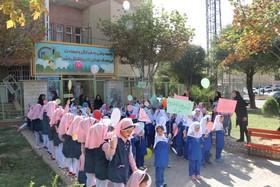 فریاد شادی کودکان در پارک کودک طنین انداز شد