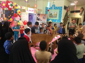 کودکان کار و تجربه یک روز خوب در نمایشگاه هفته ملی کودک