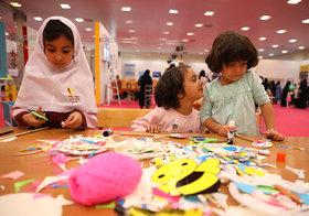 نمایشگاه هفته ملی کودک تا ساعت 20 تمدید شد