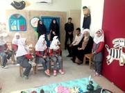 امام جمعه شهر سرخنکلاته در بازدید از کارگاه قصهگویی نمایشگاه هفته ملی کودک