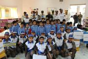 بازدید فرمانده نیروی انتظامی از کانون به مناسبت هفتهملی کودک