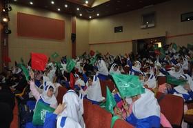 جشن روز جهانی کودک با عنوان صلح، بازی و نشاط در سالن سینمای کانون زنجان