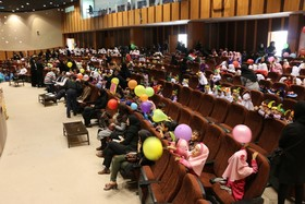 همایش کودکان در شهرکرد برگزار شد