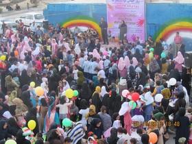 جشن با شکوه مراکز فرهنگی هنری گچساران در روز جهانی کودک