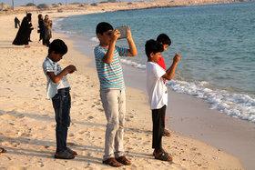 برگزاری اردوی عکاسی به مناسبت هفته ملی کودک در مرکزفرهنگی هنری کانون  ابوموسی