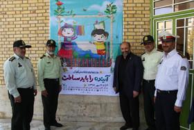 بازدید فرمانده نیروی انتظامی استان قم از کانون به مناسبت هفتهملی کودک
