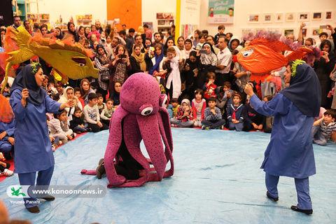 اجرای دو نمایش محیطی در هفته ملی کودک