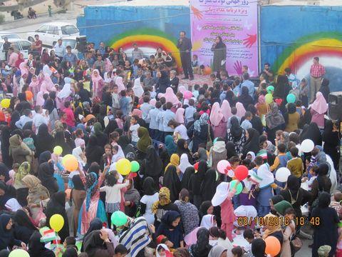 جشن با شکوه روز جهانی کودک در گچساران