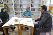 بازدید مشاور مدیرکل ارشاد از کانون شماره3 نیشابور