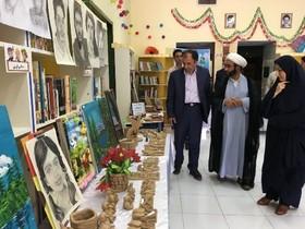 افتتاح نمایشگاه آثار اعضای مرکز فرهنگی هنری آببر