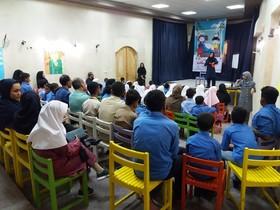 کودکان با نیازهای ویژه مهمان مرکز فرهنگی هنری کانون قشم شدند