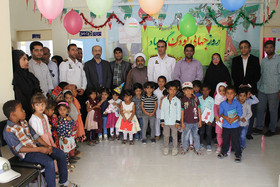 جشن کودکی برای کودکان روستایی شهرستان جاسک