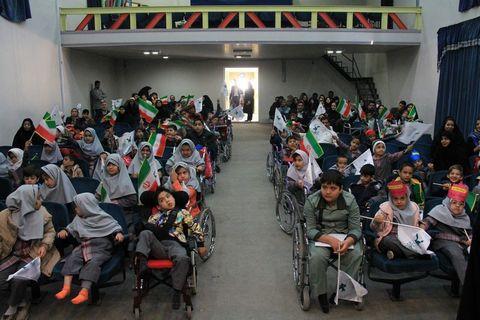 کودکان با نیازهای ویژه در هفته ملی کودک خراسان رضوی