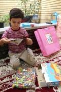 دیدار اعضای کارگروه هفته ملی با فرزندان شهید/ کانون فارس