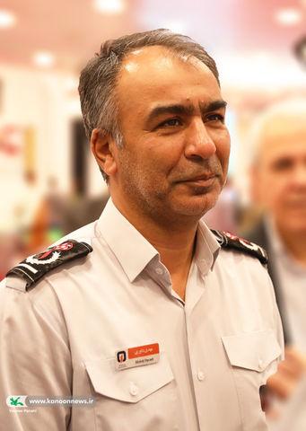 مدیرعامل سازمان آتشنشانی و خدمات ایمنی تهران در بازدید از نمایشگاه هفتهی ملی کودک