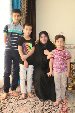 دیدار مسئولان دستگاههای اجرایی فارس با کودکان شهید مدافع وطن