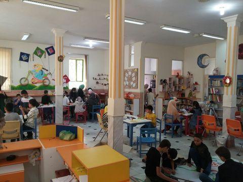 ویژه برنامهی هفته ملی کودک در مراکز شماره ۲، ۷ و ۸ کانون استان قم