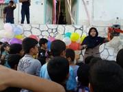 افتتاح کتابخانه در روستای رمچاه قشم به همت کانون پرورش هرمزگان