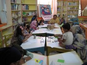 برگزاری کارگاه ادبی مادر و کودک در مرکز سیریک