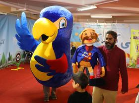 عروسکگردانی وحید خسروی ویژهی هفتهی ملی کودک