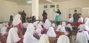 حضور مربیان بستک در روستا