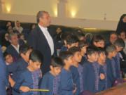 آئین اختتامیه هفته ملی کودک در بوشهر