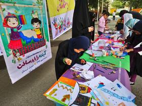 اعضا ومربیان کانون لرستان در هفته ملی کودک