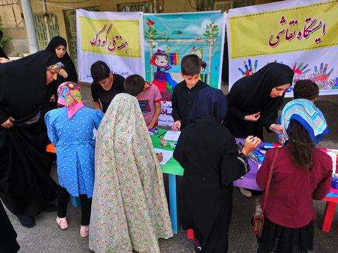 اعضا ومربیان کانون لرستان در مصلی های نمازجمعه