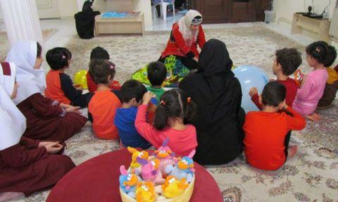 یک روز شاد با کودکان بی سرپرست و بدسرپرست کرمان