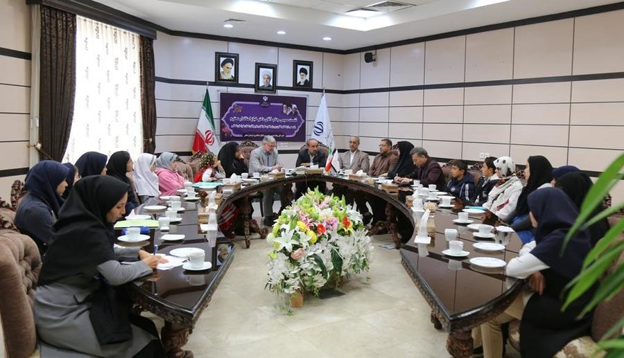 دیدار استاندار خراسان شمالی با اعضای مراکز کانون پرورش فکری کودکان و نوجوانان