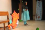آیین اختتامیه بیست و یکمین مسابقه قصه گویی مرحله استانی در بوشهر