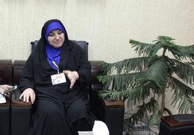 بهناز علیشیری ناظر جشنواره قصه گویی هرمزگان