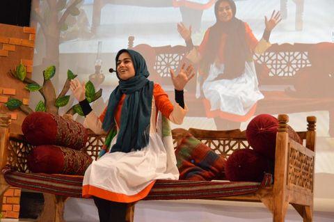 آیین اختتامیه جشنواره قصهگویی کانون پرورش فکری استان کرمانشاه(2)