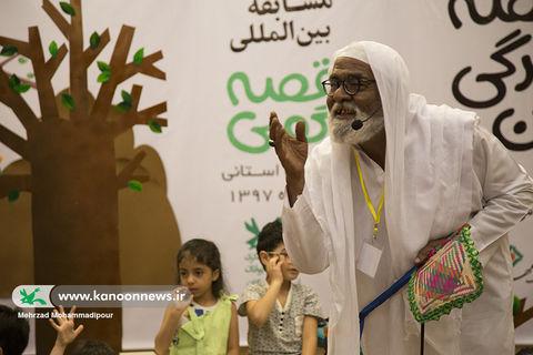 بیست و یکمین جشنواره قصه گویی هرمزگان به روایت تصویر
