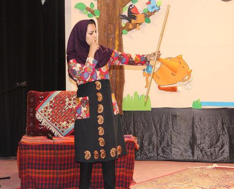دومین روز از مرحله استانی بیست و یکمین جشنواره قصه گویی استان کردستان