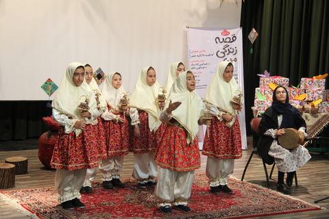 آئین اختتامیه جشنواره قصه گویی آذربایجان غربی