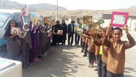 هفته ملی کودک در کتابخانه سیار روستایی رستم و نورآباد ممسنی