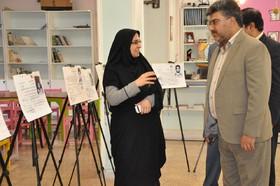 نمایشگاه عکس کارت عضویت  شهدای کانون خراسان جنوبی در بیرجند