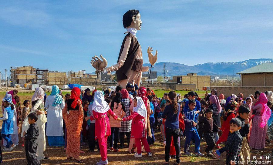 هنرنمایی عروسکها در کرمانشاه