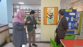 بازدید مدیرکل از مرکز فرهنگی هنری شماره ۹ کانون تهران