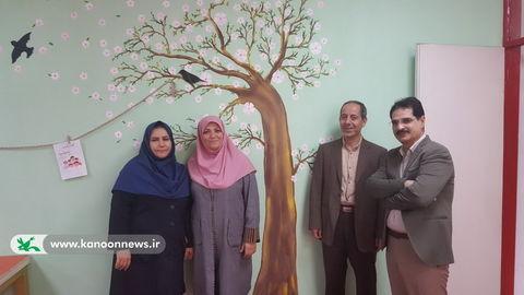بازدید مدیر کل از مرکز فرهنگی هنری شماره 9